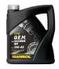 А/масло Mannol 5W40 7711  O.E.М. for Daewoo GM 4л